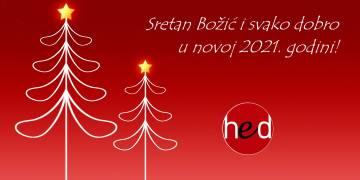 Sretan Božić i svako dobro u novoj 2021. godini