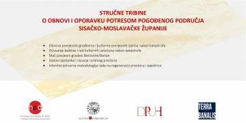 Zaključci Druge stručne tribine o obnovi i oporavku potresom pogođenog područja Sisačko-moslavačke županije